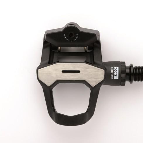 LOOK KEO 2 MAX Pedal CroMo axle w/ KEO Cleat Black 125g